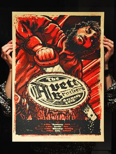 INSIDE THE ROCK POSTER FRAME BLOG: The Avett Brothers Posters by Lars Krause plus 5 other new ones on sale