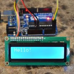 I2C LCD Display | Arduino Board