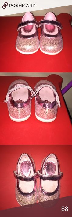 Sparkles Pink Shoes Sparkle pink little girl shoes Shoes Sneakers