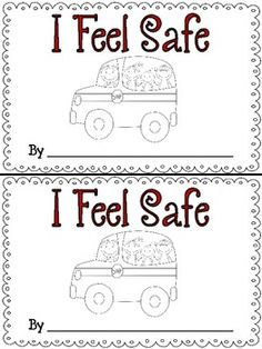 This short booklet is perfect to complete with your students after a tragedy.  It will allow them to know that school is a safe place because there are teachers that love and care about them.