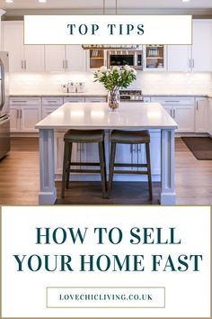 Lots of ideas, tips and tricks for making a quick house sale. When you need to sell your home fast, you need these tips. Do the prep, throw up a sign and a banner, and don't forget the staging. Preparing well for a house sale will really be a good investment. #housesale #lovechicliving Classic Home Decor, Classic House, Elegant Home Decor, Unique Home Decor, Vintage Home Decor, Cheap Home Decor, Cheap Bedroom Decor, Stylish Home Decor, Bedroom Vintage