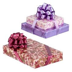 Burgundy+and+Purple+Wrapped+Gift+Set