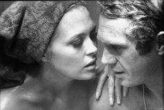 Faye Dunaway and Steve McQueen, 1967. - ...... Great in the Thomas Crown Affair