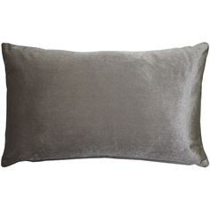 This medium sheen Corona Silver Velvet Pillow will add a stunning and sophisticated touch to your home. Wonderfully soft, this inch toss pillow will layer perfectly with any of the other Corona Velvet Pillows. Size: x Pattern: Solid Color. Machine Wash Pillows, American Decor, Velvet Pillows, Toss Pillows, Lumbar Pillow, Decorative Pillows, Silver, Size 12, Touch