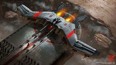 Concept ships by Clinton Felker