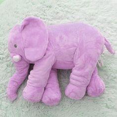 Soft Elephant Cuddle Buddy