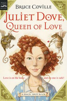 Shy Juliet Dove leaves Mr. Elives' magic shop with Helen of Troy's amulet--a virtual man magnet. Juliet doesn't know what she's got, but soon every boy in town is swoony for her. Yet, much as she'd like to lose all the unwanted attention, she can't: The amulet won't come off!