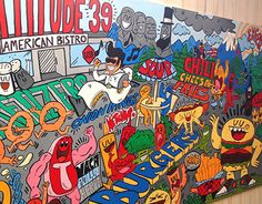 """Check out new work on my @Behance portfolio: """"MURAL LATITUDE 39"""" http://be.net/gallery/34894435/MURAL-LATITUDE-39"""