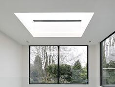 Dramatic flat skylights for roofs Roof Light, Skylights, Noise Reduction, Windows, Flat, Building, Bass, Side Return, Buildings