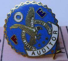 Fraternal Order of Eagles AUDITOR FOE early 1980's