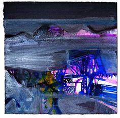 Creels, Blacksod, mixed media, 39 x 39cm by Barbara Rae Pastel Landscape, Abstract Landscape, Abstract Art, Barbara Rae, Scottish Women, Mixed Media Artwork, Commercial Art, Contemporary Artists, Art Gallery