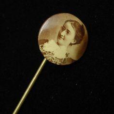 Photograph Stick Pin Vintage