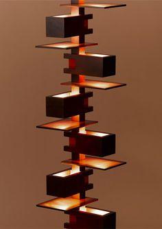 建築家、フランク・ロイド・ライト。 照明