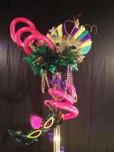Centerpiece Mardi Gras, Centerpieces, Crown, Jewelry, Carnival, Corona, Jewlery, Bijoux, Schmuck