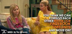 Oh, Mel! SO funny! #MelissaAndJoey
