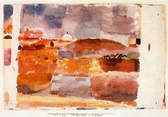 Paul Klee - Ante las puertas de Kairuan