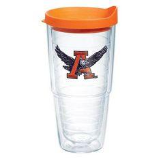 Tervis Tumbler Collegiate Vault Tumbler Lid/No Lid: Lid Included, Size: 24 Oz, Team: Auburn University