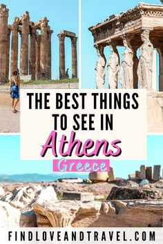 Europe Travel Guide, Europe Destinations, Travel Guides, Backpacking Europe, Acropolis Greece, Athens Greece, Greece Itinerary, Greece Travel, Worldwide Travel