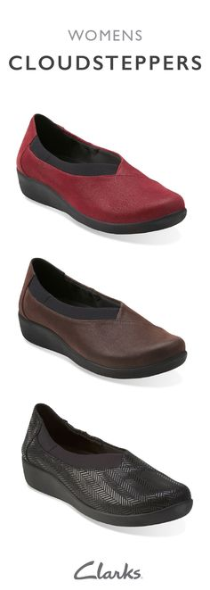 73ecb29775 The Sillian Jetay from Clarks is a women s slip-on shoe that provides style  and