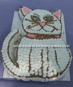 Cat cake The Last Bite Bakery Pinterest Cats Cakes and Cat