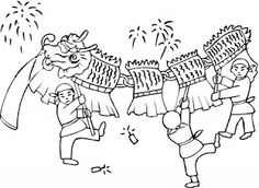 free chinese new year kids coloring sheets