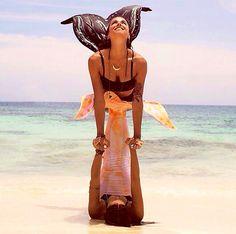 Yoga mermaids