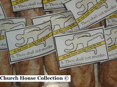 "Church House Collection Blog: Ten Commandments Snacks- ""Thou Shalt Not Murder"" Snack"