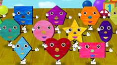 Shapes Song for children! Combined with both original and classical tunes. Babies, toddlers, preschoolers, and kindergartners can learn their shapes in a fun...
