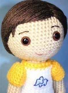 Crochet Pattern- Seth, an amigurumi boy