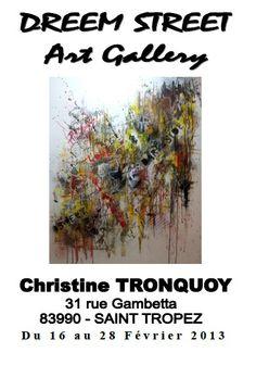 Christine Tronquoy, a Saint Tropez, (16/02 – 28/02)