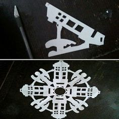 Weekend DIY: Doctor Who Snowflakes. This is happening this holiday season!