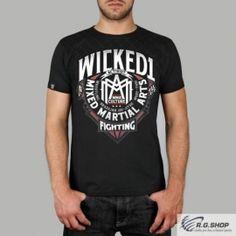 Tričko WICKED ONE MMA čierne