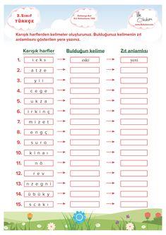 Turkish Lessons, Learn Turkish Language, Child Development, First Grade, Homeschool, Education, Learning, Beautiful, Turkish Language