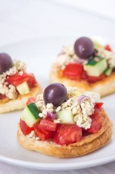 Kind of a Greek #vegan salad