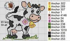 Stuffed Animal Patterns, Cross Stitching, Needlework, Embroidery, Comics, Instagram Posts, Fun, Cross Stitch Cow, Cute Cross Stitch