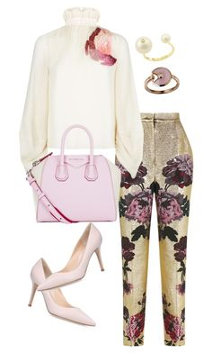 """""""Untitled #65"""" by rinpuririn on Polyvore featuring Dolce&Gabbana, Roksanda, Gianvito Rossi, Givenchy, Cartier, Delfina Delettrez, lookbook and fashionset"""