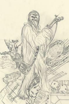 Rebel Heist 3 (Adam Hughes sketch variant)