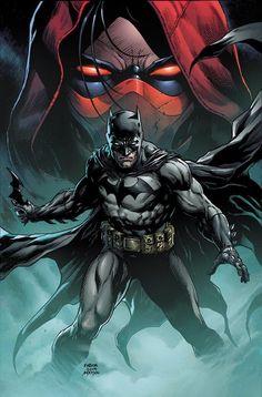 Event Leviathan variant cover - Batman and Red Hood by Jason Fabok, colours by Brad Anderson * Batman Dark, Batman The Dark Knight, Batman And Superman, Spiderman Art, Comic Book Covers, Comic Books Art, Comic Art, Book Art, Batman Artwork