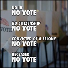 Voter Fraud: When dead people always vote Democrat after they've died. Democrat CORRUPTION the only way unhinged uncivil Democrat MOBS can stay in office. NO VOTE! Political Memes, Political Views, Political Party, Voter Id, Conservative Politics, It Goes On, Before Us, Common Sense, In This World