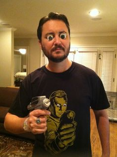 This is, in my humble opinion, further evidence to support my theory that being easily amused is what's best in life.- Wil Wheaton