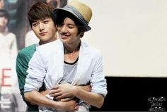 Myungsoo and Sungjong