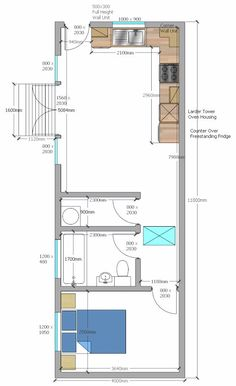 Case Study - Project Based in Lincolnshire. Mini House Plans, Small House Floor Plans, Small Tiny House, Tiny House Cabin, Small House Design, Small Apartment Plans, Studio Apartment Floor Plans, Modern Bungalow House, Bungalow House Plans
