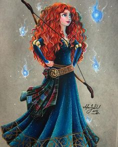 Lady in waiting merida disney, brave merida, brave disney, brave pixar, wal Merida, Cute Disney, Disney Drawings, Disney Girls, Disney Dream, Disney Princess Drawings, Cartoon, Disney And Dreamworks, Disney Animation