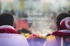 A classic gounder wedding