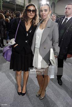 Photo d'actualité : Virginie Ledoyen and Elodie Bouchez attend the...