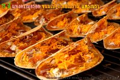 Famous Thai sweets, crispy wrap with fillings - Kanom Bueng    ขนมเบื้อง