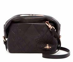 Get the trendiest Cross Body Bag of the season! The Vivienne Westwood New Small Hogarth Shoulder/Crossbody/Clutch Black Leather Cross Body Bag is a top 10 member favorite on Tradesy. Black Leather Crossbody Bag, Crossbody Clutch, Leather Purses, Leather Handbags, Designer Handbags On Sale, Vintage Bags, Vivienne Westwood, Bag Sale, Cross Body Handbags