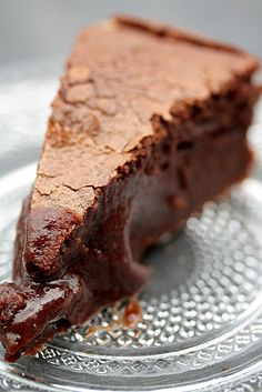 fondant chocolat marron/ chestnut and chocolate is a great combination.
