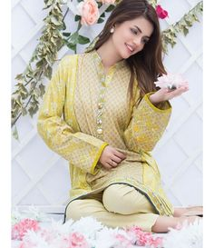 Alkaram Two Piece Embroidered Lawn Collection 2016 4A