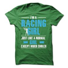 Racing guy is cooler T-Shirts, Hoodies. BUY IT NOW ==►…
